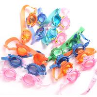 132 senior anti-fog waterproof swimming goggles child general cartoon swimming glasses
