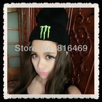 Free Shipping! Free Shipping New Fluorescent Claws Korean Fashion Knitted Cap PUNK Hip Hop Beanie Women Men Winter Hat Keep Warm