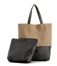 HOT!!! 2013 crocodile pattern patchwork boa vintage bag fashion bucket bag large capacity bag female bags(China (Mainland))