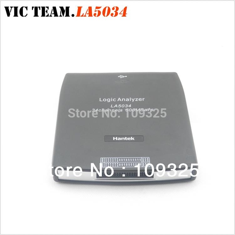 H067 Hantek LA5034 PC USB Logic Analyzer 34CH Sample rate 500MHz Bandwidth 150MHz LA-5034(China (Mainland))