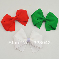 """Free shipping Baby 4"""" Grosgrain Ribbon Bows handmade DIY Baby Boutique bow hair shoe dress package accessories 400pcs/lot"""