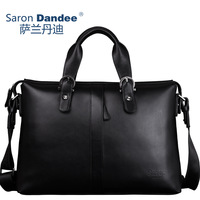 Commercial leather bag messenger bag casual bag male male briefcase man handbag (SD095)