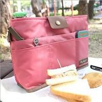 2014 New Beautician Cosmetic bags women's makeup bag handbag travel organizer bag 4 Color