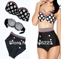 Женское бикини NWT Sexy Women Lady Padded Push-up Swimwear Bikini Set Luxe Jeweled Strap&Strapless Swimsuits, Drop shipping