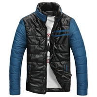 new 2013 SEMIR men's clothing wadded jacket casual thermal cotton-padded jacket slim male cotton-padded jacket