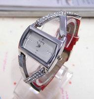 Wholesale Leather Strape Gogoey Brand Crystal Watch Women Fashion Dress Quartz Watch Ladies GO072 AN