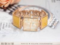 Wholesale Fashion Rose Gold Tone Square Dial Watch Women Ladies Wrist Dress Watch Wristwatches TW033