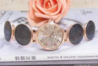 Wholesale Special Design Fashion Rose Gold Tone Watch Women Ladies Crystal Quartz Dress Watch Wristwatches TW031 AN