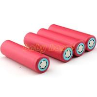 4PCS/lot Original Sanyo 18650 2600mAh Li-ion Rechargeable Battery Free Shipping