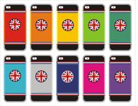 Three-dimensional frame SPIGEN SGP British flag Hard Back Cover for iPhone5 free shipping 10pcs/lot