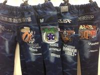 Autumn and winter boy pants boy pants wholesale Korean foreign trade large child children denim pants / children's clothing whol