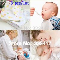 31cm * 31cm  Duplex  cotton gauze handkerchief super soft face towel feeding towel