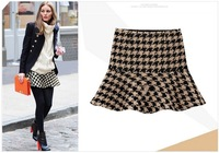Free Shipping 2013 winter ladies' fashion new major suit Plover backing skirt