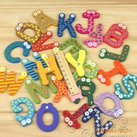 Baby early education alphabet toy with Magnetic 26pcs/lot free shipping