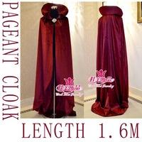 wholesale retial queen princess cloak beauty pageant winner cloak etiquette flannel material mpf-001B