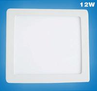12W led panel light/led ceilling light/led panel light for kitchen/bathroom/office/