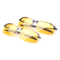 Night vision goggles night vision driving glasses with chauffeur luminous night glare polarizer driving mirror 3043