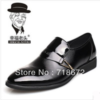 2013 new, 100% first layer of leather, apartments, men, casual, business dress shoes, men leather shoes, free shipping