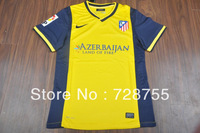 The Global Free shipping players version 13-14 Atletico Madrid Away PI players jersey Top thai quality jersey Football suit