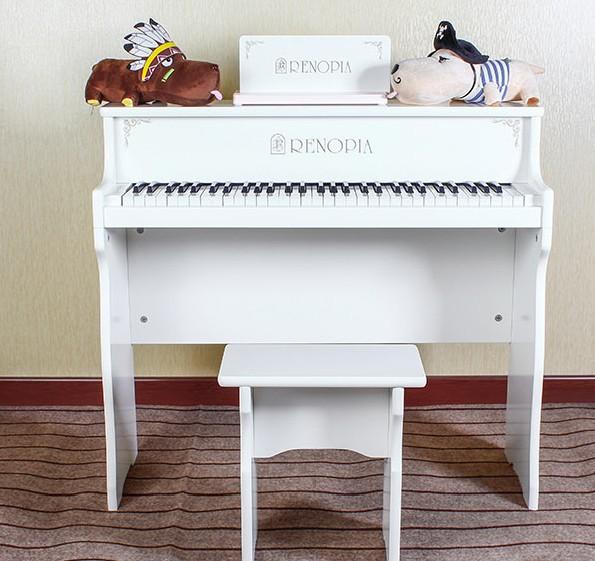 Authentic Korean RENOPIA 61 key children piano / multifunction music puzzle / wooden piano lessons(China (Mainland))