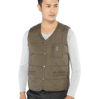 2013 new arrival men's down vest male thermal down waistcoat winter plus size down underwear free shipping