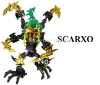 Decool Hero factory5.0 SCARXO8503 building block toy lego compatible boys gift enlighten toy