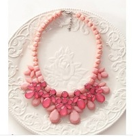 2014 Newest Fashion Necklace Hot Wholesale Texture luxury crystal droplets retro short Necklace Fashion Necklace Jewelry