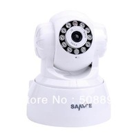 (SG Post)Freeshipping Sannce Wireless IP Camera Seurity Pan/Tilt Audio Night Vision IP7633JV