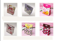 12pcs/lot Mix Style Paper Gift Bags Gift Package 12.5cm*16cm Free Shipping PA6
