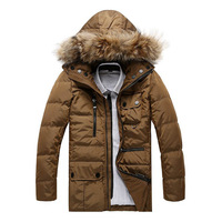 Free Shipping Winter High Grade Down Coat For Man Men's Down Jacket Outwear 90% White Duck Down