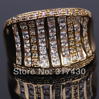 Best Quality luxury mens womens ring Row Swiss Cubic Zirconia Diamond Band Wedding Ring engagement  jewelfy size10, size11