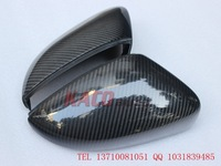 Carbon Fiber Side Mirror Covers for Volkswagen Lavida Replacement FIT 100% Free Shipping