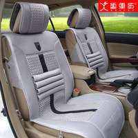 Volkswagen new bora lavida Polo jetta Magotan seat cushion four seasons viscose car seat cushion and neck pillow