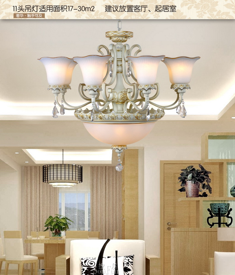 Free shipping Fashion modern crystal pendant light energy saving led home furniture lighting(China (Mainland))