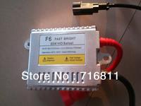 F6 9-16V 55W FAST BRIGHT super slim HID ballast E-mark CE 12 month warranty