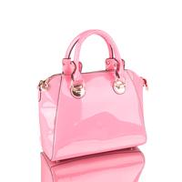 FREE SHIPPING! 2013 high-shine colorful women leather handbag already set women messenger bag leather bag female shoulder bag