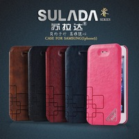 10/lots,SU LADA RUI series leather case For  iphone5/5s ,high quality,free shipping