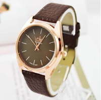 men's quartz watch men top brand luxury wristwatches famous brand the fashion designer brown Watches