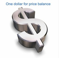 Price balance one dollor