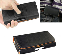Belt Clip Loop Hip Holster Leather Flip Pouch Case Cover For Sony Xperia TX LT29i