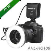 Aputure HC100 CRI 95+ Amaran Halo LED Macro Ring Flash light  For Canon EOS 7D 6D 50D 5D Mark III 5D Mark II 700D 70D free gift