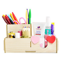 Hearts . fashion wool desktop pen multifunctional combination 3 fps pen storage