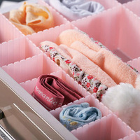 High quality drawer partitions classification of combination retractable storage underwear finishing lattice