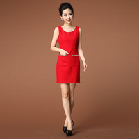 Edhi 2013 autumn and winter sandy iam27 one-piece dress