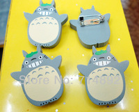40pcs/lot Totoro figure Anime My Neighbor Totoro Brooches free shipping