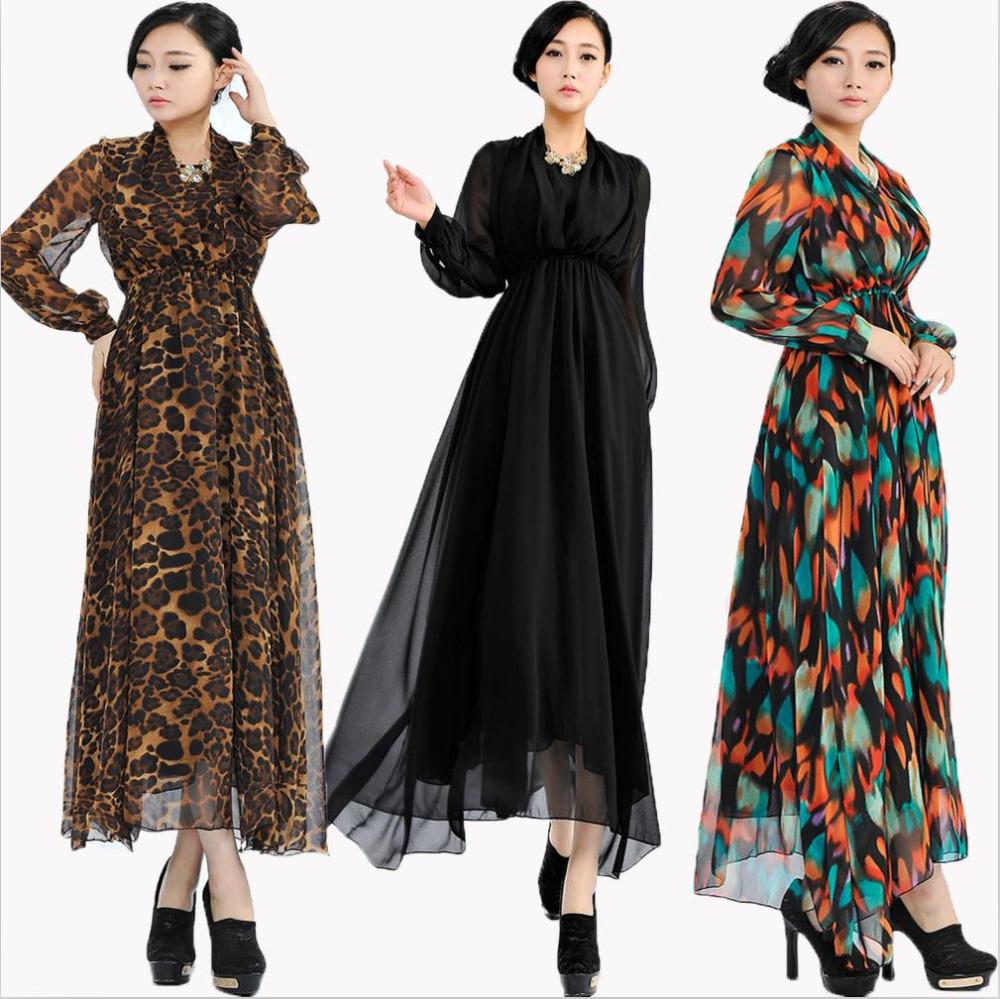 الگوی شاسخین بزرگ Long Casual Dresses 2014 Fashion Trends