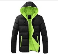 free shipping HOT SALE ! Men's Cotton-Padded Jacket DOWN parkas