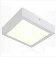 Free shipping 12W LED Surface Ceiling light AC85V-265V Kitchen light Square type Surface mounted SMD2835