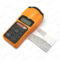 Free Shipping Useful LCD Ultrasonic Laser Pointer + Distance Measurer 60FT