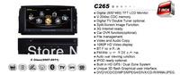 A8 Chipset 3G HD 1080P Car DVD Headunit For mercedes-benz C Class 2007-2011